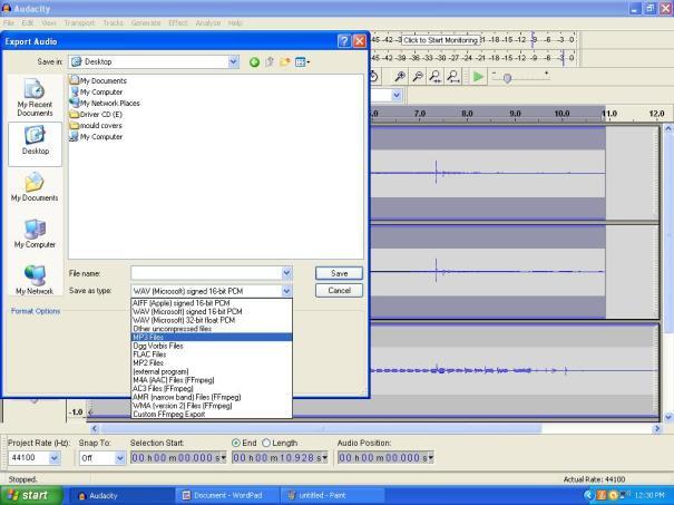 click track 4
